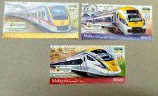 Malaysia 2018 Electric Train(ETS) Overprint International Banknote Stamp Penang