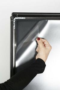 4 x Ersatzfolie für Kundenstopper Werbeaufsteller - DIN A1 (594x841 mm)