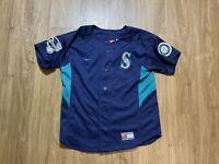 Seattle Mariners Ichiro Suzuki #51 MLB Baseball Jersey Nike Sz Kids Medium 12/14