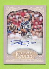 2012 Topps Gypsy Queen Auto - J.P. Arencibia (GQA-JA)  Toronto Blue Jays