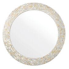 Round Mosaic Decorative Mirrors