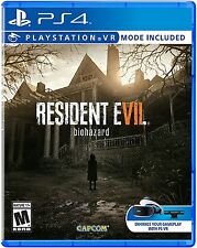 Resident Evil 7 Biohazard- PlayStation 4 Brand New Ps4 Games Sony Factory Sealed