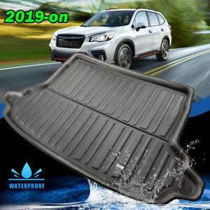 Boot Cargo Liner Tray Rear Trunk Floor Mat Carpet For Subaru Forester SK 2019