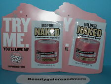 2 SOAP & GLORY THE RIGHTEOUS BUTTER BODY MOISTURIZER SHEA BUTTER NEW 0.33 EA PK
