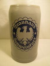 Alter Brauerei Bierkrug : BRAUHAUS SCHWEINFURT 1 Liter