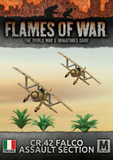 Flames of War Italian CR.42 Falco Assault Section (IBX19)