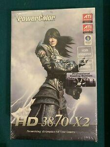 PowerColor ATI Radeon HD 3870 X2 1GB GDDR4 PCI-Express - Rare