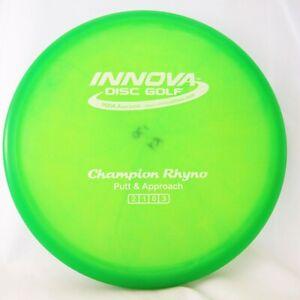 INNOVA CHAMPION RHYNO SAN MARINO GUMMY w/ Patent #'s Green w/ White 170g -NEW