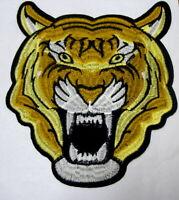 Aufnäher TIGER Patch Tigre Panther Raubkatze Rückenaufnäher XXL