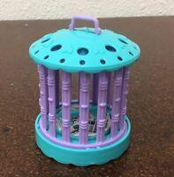 Vintage Kenner Littlest Pet Shop Replacement Bird Cage Purple Blue