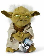 Star Wars 9 inch Talking Yoda Plush Master Jedi Disney Collectible