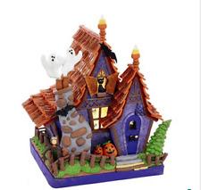 Kurt Adler Halloween Light Up Haunted House Closeout