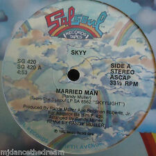 "SKYY ~ Married Man ~ 12"" Single USA PRESS"