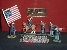 Britains 17577 GUERRA CIVILE AMERICANA bucktails METAL Toy Soldier Figure Set