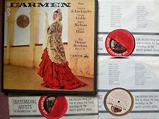 ASD 331-333 Bizet Carmen Victoria De Los Angeles 3LP Box Set