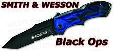 Smith & Wesson Black Ops 3 Assist Ser Tanto SWBLOP3TBLS