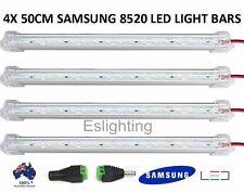 4X 50CM 12V 8520 LED STRIP LIGHT BAR CARAVAN 4WD CAMPING BOAT TENT FISHING NEW