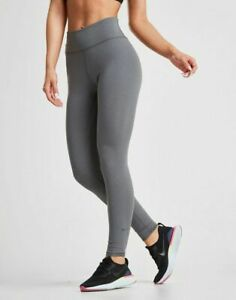 NIKE DRI FIT ONE LUX WOMEN'S TRAINING TIGHT FIT GRAY SZ M OR XL#AT3098-NWT