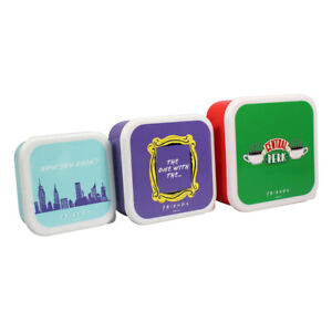 Friends Central Perk Set of Three Nesting Snack Boxes