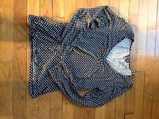 T-shirt Caroll Noir Avec Petite Étoiles Blanches taille 40 manches Longues