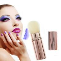 Mini Retractable Foundation Makeup Brush Beauty Brushes Travel Cosmetic Tool