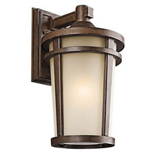 """Kichler Energy Efficient Atwood Brownstone 17.75"""" Led Outdoor Wall Lantern"""