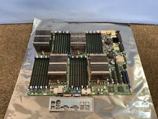 Supermicro H8QG6-F G34 Motherboard with Shield & CPUs 4x AMD Opteron 6134 8-Core