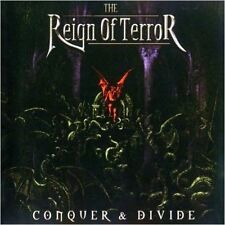 THE REIGN OF TERROR - Conquer & Divide CD