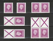 Nederland Stockkaart Combinaties uit Postzegelboekjes 18 Postfris