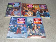 The Three Investigators paperback books 6-10
