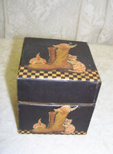 Small Storage Box Titled Color of Cats