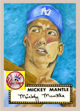 MICKEY MANTLE 1952 ACEO ART CARD #### BUY 5 GET 1 FREE #### & COMBINED SHIPPING