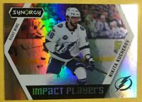2017-18 UD Synergy Impact Players Rainbow Foil Insert #IP-36 Nikita Kucherov