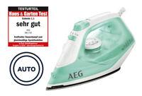 AEG Dampfbügeleisen Tropf-Stopp-Funktion Vertikaldampf 80gr Anti-Kalk Bügeleisen