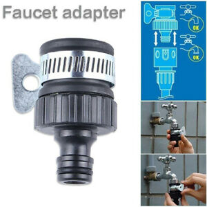 Tap To Garden Hose Pipe Connector Universal Mixer Kitchen Bath Tap Adapter hot