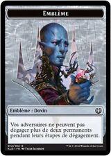 MTG Magic KLD - Token/Jeton - Emblem/Emblème : Dovin, #012E, French/VF