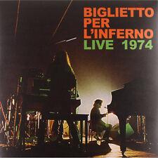 biglietto per inferno - live 1974   re-release vinyl