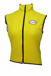 Zimco Elite Women Cycling/Running Waterproof Vest Windproof Biking Vest Yellow 1