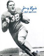 JOHNNY LUJACK SIGNED AUTOGRAPHED 8x10 PHOTO +1947 HEISMAN NOTRE DAME BECKETT BAS