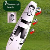 1.75m Adult Children Inflatable Football Training Goal Keeper Tumbler Air Soccer