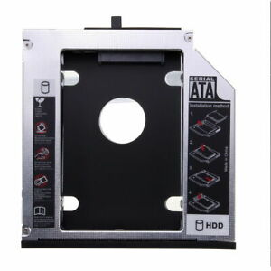 """For Lenovo ThinkPad T420 T430 T510 T530 Optibay 2.5"""" 2nd SSD HDD SATA HDD Caddy"""