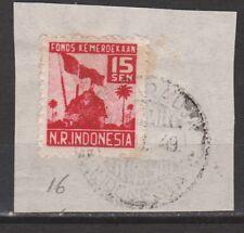 Japanese occupation Sumatra 16 TOP CANCEL KOETARADJA INDONESIA Japanse bezetting