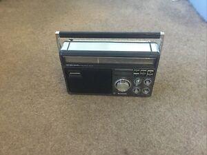 Good Quality 1981 Panasonic RF-1410LBE Radio With Orig Dixon's Receipt Untested