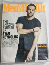 MEN'S HEALTH Magazine Mar 2016 - Ryan Reynolds Cover - Fitness Weightloss New