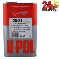 U-Pol S2031/1 Extra Fast Hardener / Activator For Paint & Primers 1 Litre Tin
