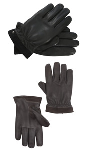 NWT UGG Men's Capitan Faux Fur-Lined Leather Tech Gloves 14030 MULTI COLORS/SZS