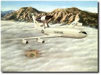 YUKLA27 by Don Feight - E-3 AWACS - Artist Proof - Aviation Art Print