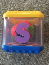Fisher Price Peek-a-block Boo Replacement S Strawberry Piece