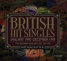 British Hit Singles January 1940 December 1949 1940s 4 CD Set Original Recording