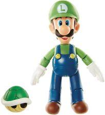 World of Nintendo Luigi with Koopa Shell Action Figure